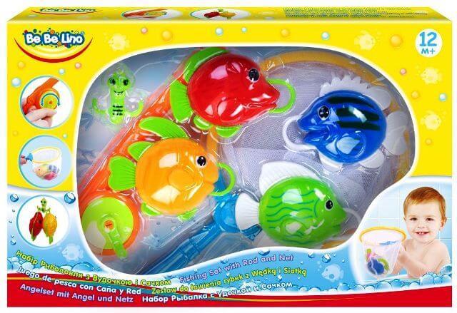 Игрушка для купания Рыбалка с удочкой и сачком 58077 BeBeLino