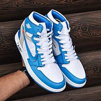 "Мужские кроссовки Nike Air Jordan 1 ""off-white"""