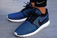 Мужские летние кроссовки Nike Roshe Run New 2015 40 Синий