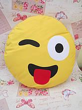 Велика подушка-смайлик Emoji #b-12 Smile