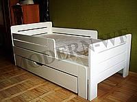 """Ліжечко дитяче """"Джек"""" зроблена з натурального дерева"""