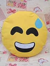 Велика подушка-смайлик Emoji #b-18 Smile