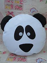 Велика подушка-смайлик Emoji #b-25 Панда Smile