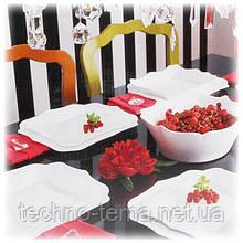 Сервиз столовый с салатником 19 предметов Authentic White Luminarc E6197