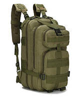 Туристичний (тактичний) рюкзак на 30 літрів RVL A10-оліва