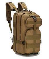 Туристичний (тактичний) рюкзак на 25 літрів RVL B02-пісок