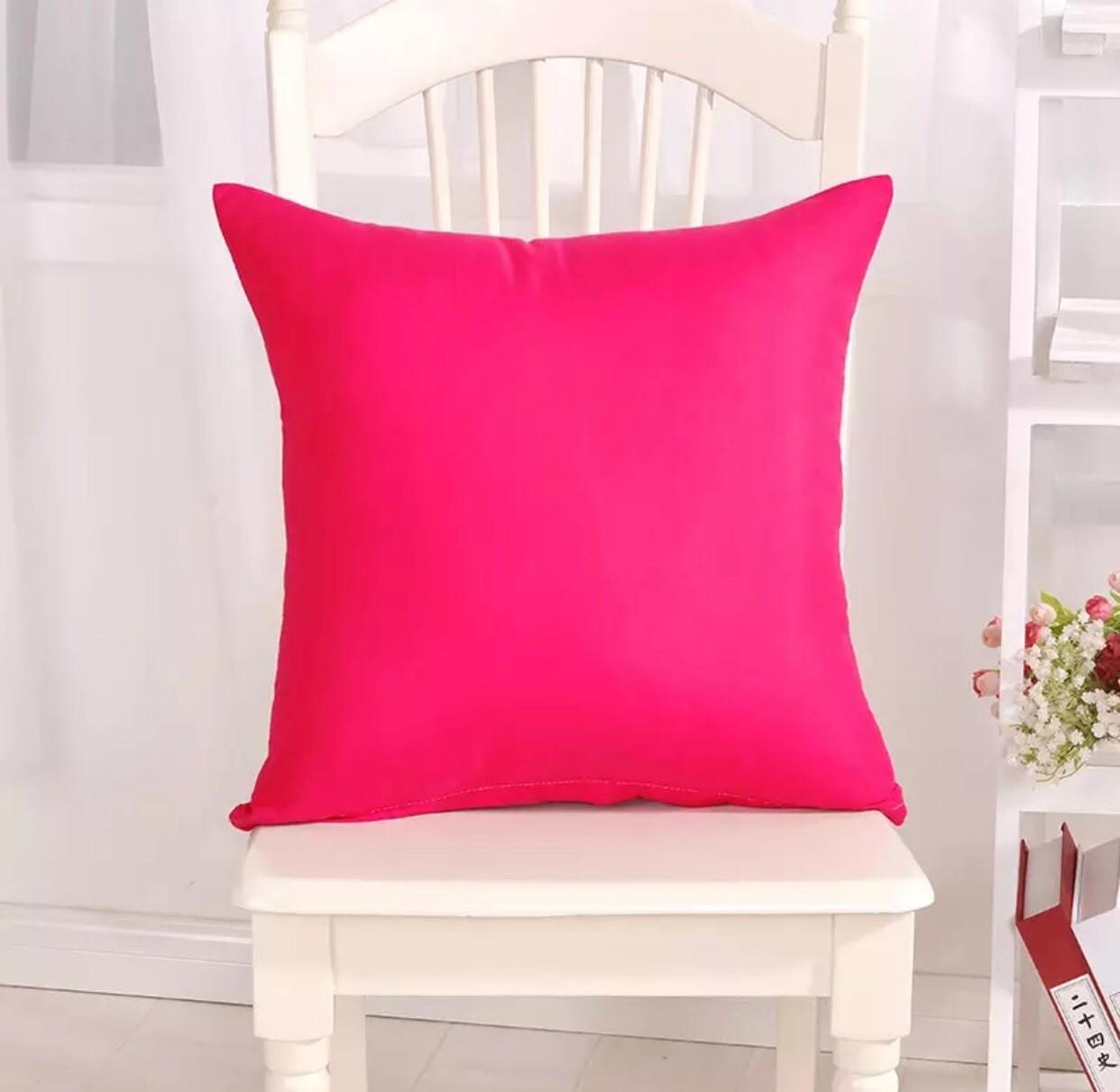 "Декоративная подушка ""Канзас Розовый"""
