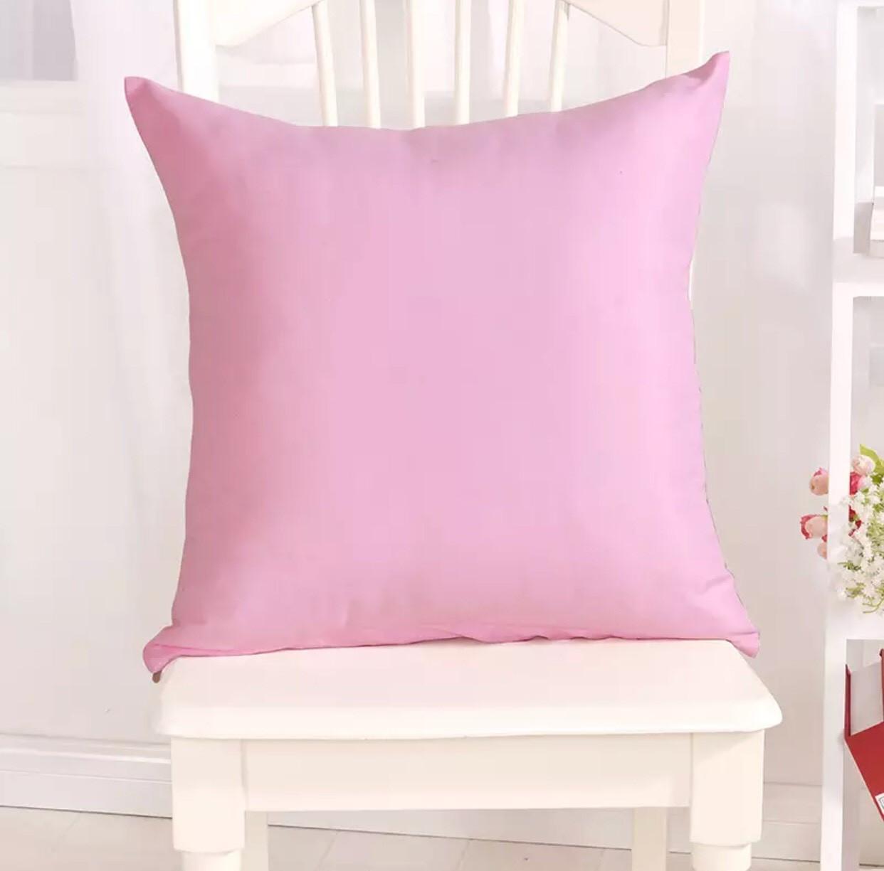 "Декоративная подушка ""Канзас Светло-Розовый"""
