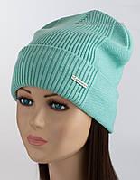 Стильная шапка-колпак Ruby цвет тиффани