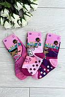 Носки детские махровые в коробке 6 шт р.31-34 Disney 819-3