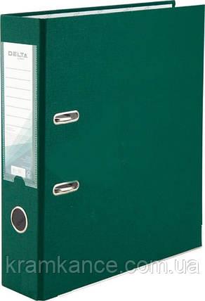 Папка-регестратор Delta by Axent 1714-23 7см темн. зеленый, фото 2