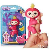 Интерактивные обезьянки Fingerlings розовый
