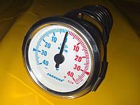 Термометр металлический с капилляром 1-метр./ -40+40℃ градусов/Ф-60мм. производство Турция PAKKENS