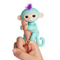 Інтерактивні мавпочки Fingerlings блакитний