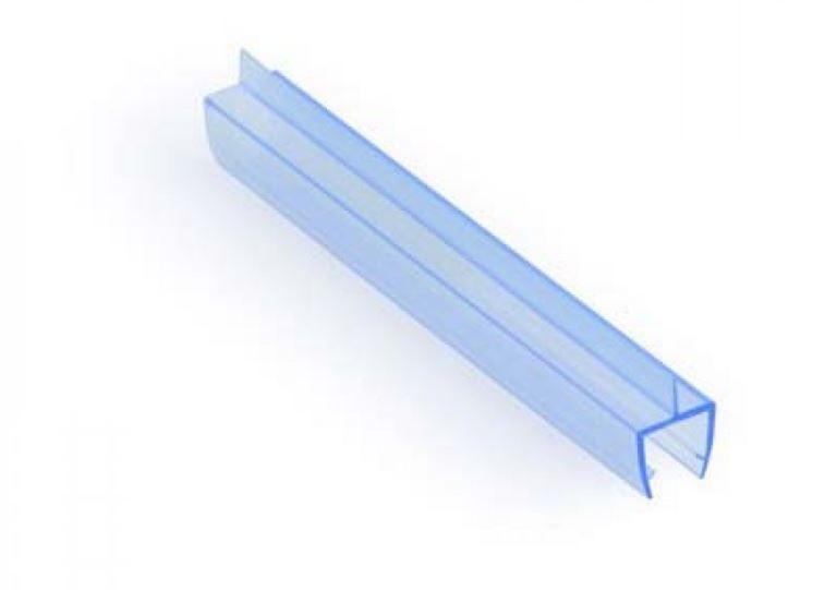 KLC-03-02-00 Душевой уплотнитель под стекло 8 мм, длинной 2200 мм