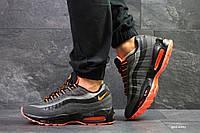 Кроссовки NIKE , Nike Air max 95  кроссовки мужские ТОП КАЧЕСТВО!!! Реплика