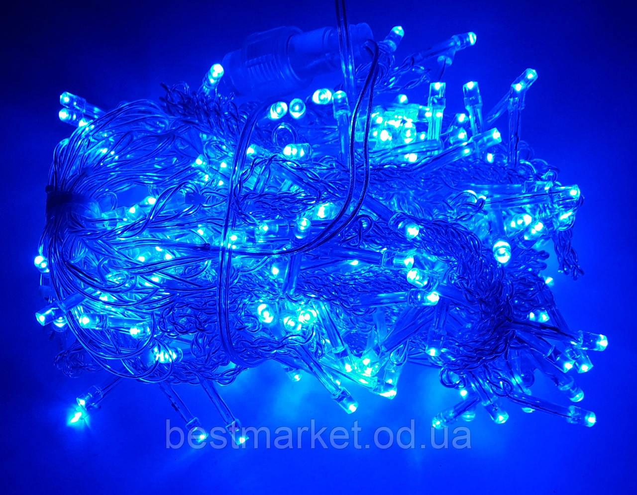 Светодиодная Гирлянда Штора 240 Led - В 1,5 х 1,5 м Синий
