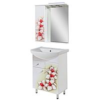 """Комплект мебели для ванной комнаты """"Орхидея"""""""