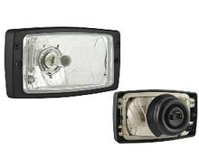 Фара головного світла 184х102 мм Wesem PES1.41900 ближнє і дальнє світло