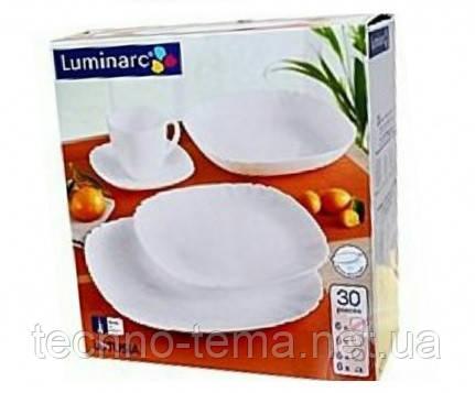 Сервиз столовый 30 предметов Lotusia Luminarc H3902