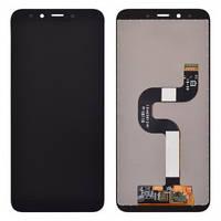 Дисплей Xiaomi Mi A2 Mi6X с тачскрином черный Оригинал