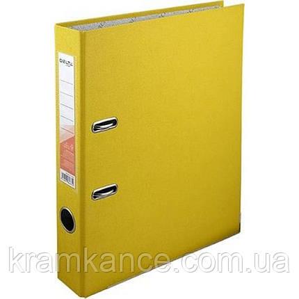 Папка-регестратор Delta by Axent 1713-08 5см желтый, фото 2