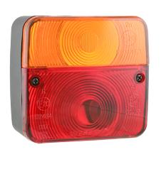 Блок-фара задняя Wesem Lt1.06727 4-х функциональная 98x103x50