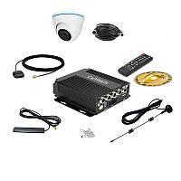 Комплект спостереження Carvision MDVR004/W/3G/GPS Kit-1x
