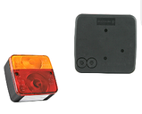 Блок-фара задняя Wesem Lt1.06727 4-х функциональная 98x103x50 , фото 3