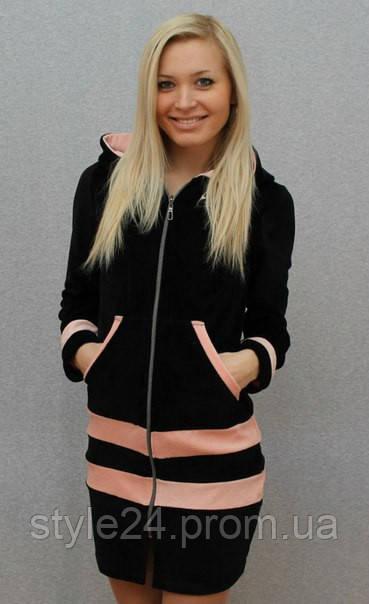 Велюровий жіночий халат - Стильний одяг «Роксана» в Одессе 0772098beedf2