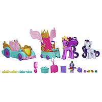 Святковий кортеж з Сутінкової Іскорки, Рарити і Спайком від Hasbro My Little Pony