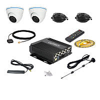 Комплект спостереження Carvision MDVR004/W/3G/GPS Kit-2x