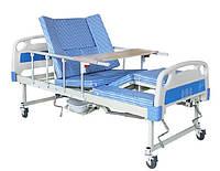 Функциональная кровать с туалетом для реабилитации. Е30 Уход за инвалидами, лежачими больными