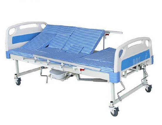 Функциональная кровать с туалетом для реабилитации. Е30 Уход за инвалидами, лежачими больными, фото 2