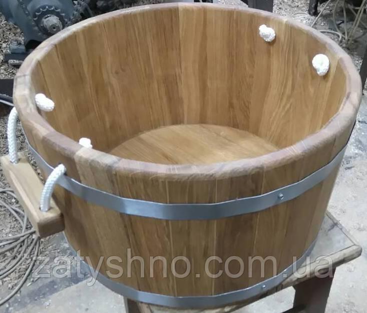 Запарник дубовый на 27 литров для бани и сауны