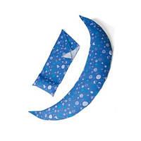 Подушка для беременных 10 в 1 DreamWizard (синяя), Nuvita