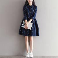 Стильное свободное платье, фото 1
