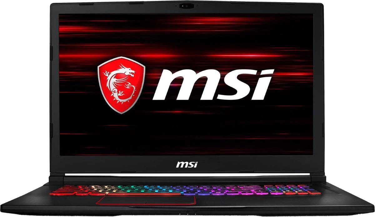 Ноутбук MSI GE73 Raider RGB 8RE-031F, 17,3, Intel Core i7-8750H (4.1GHz), 16GB, 1TB + 256GB, GeForce GTX 1060