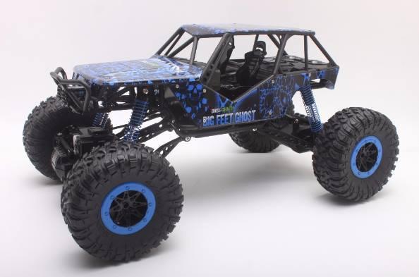 Радиоуправляемая игрушка HB TOYS Rock Crawler Джип на р/у 1:10 700mAh 4x4 Синий (SUN2261)