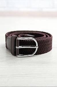 Ремень мужской плетение темно-коричневый Akai 900