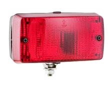 Противотуманний ліхтар Wesem LA1.02004 червоний 140х75х65