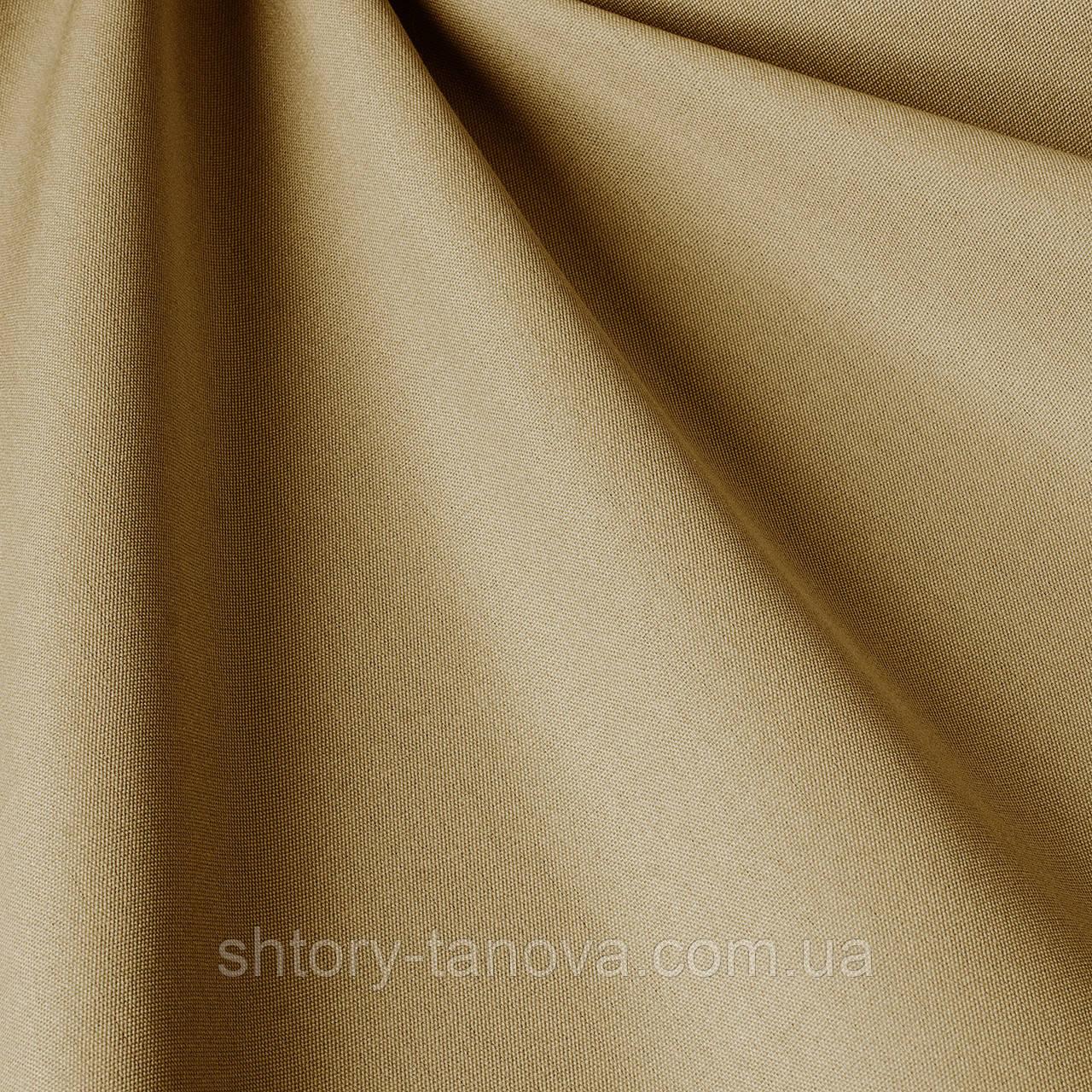 Однотонная ткань для улицы светло-коричневого цвета
