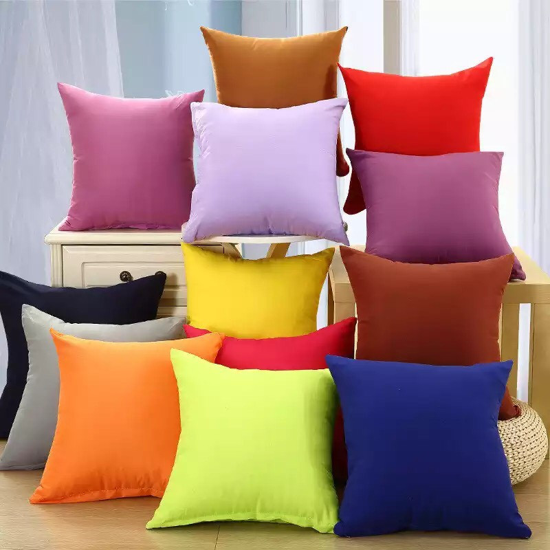 Пошив мягких декоративных подушек из мебельной ткани Нубук