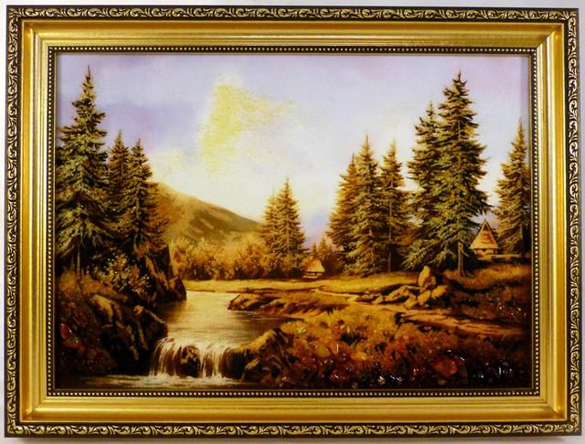 Картины с янтаря
