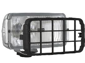 Фара дальнього світла 182х86х81 мм Wesem HP4.18479 хром з решіткою