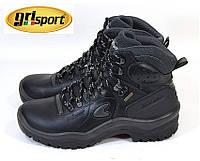 Термо ботинки кожаные, мужские Grisport Gritex 12205 Италия,  гриспорт, непромокаемые, зимние