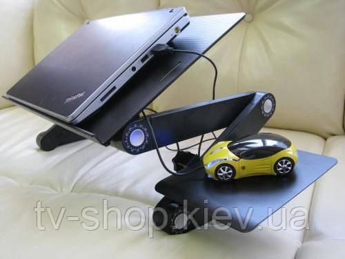 Столик для ноутбука c вентиляторами Mindo