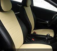 Авточехлы Volkswagen Passat B6 B7 (Фольксваген Пассат Б6-Б7) экокожа + перфорация
