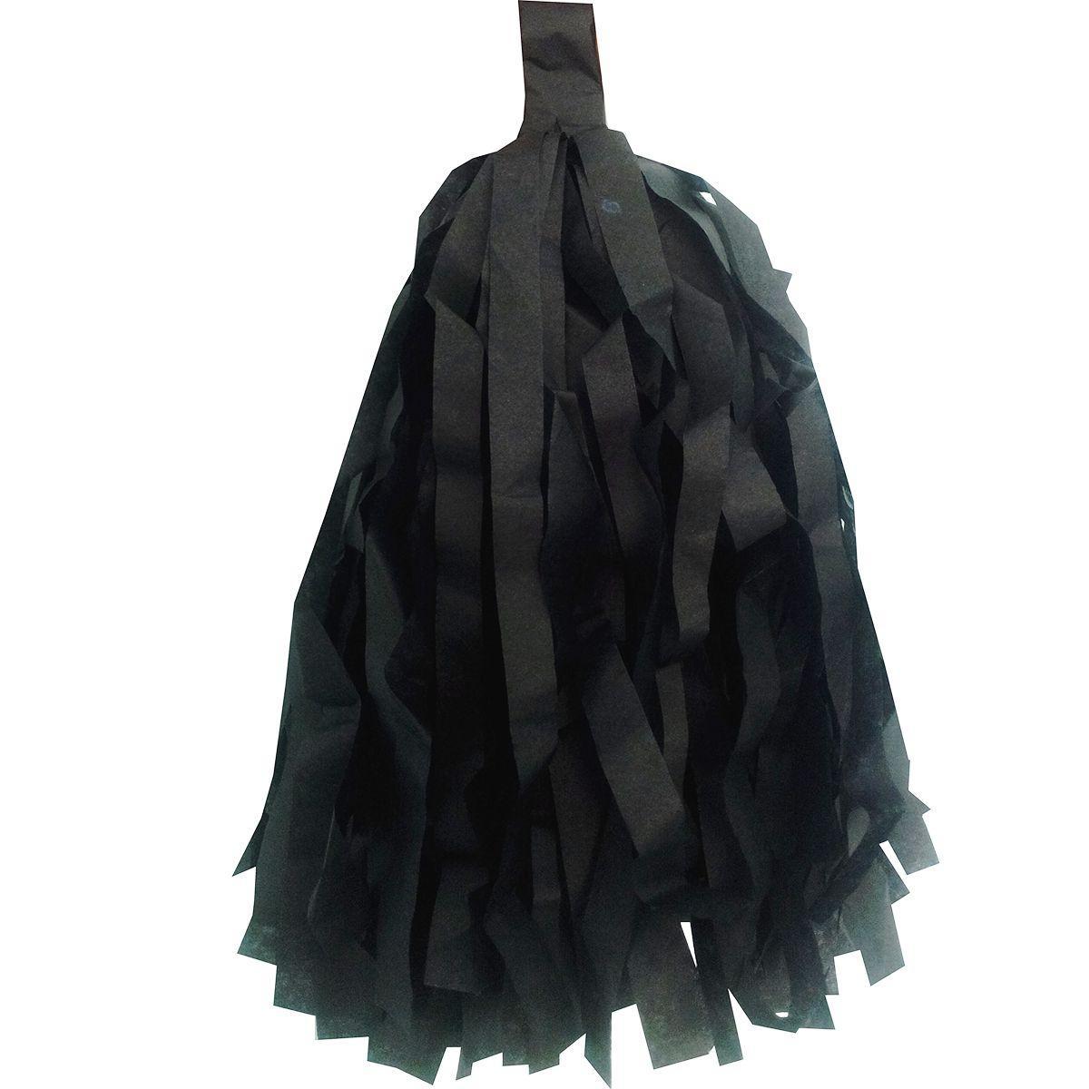Тассел чорний 30см