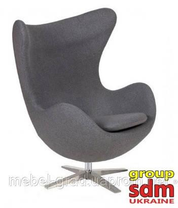 Барное кресло Эгг (Egg) Group SDM серый